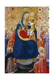 Madonna and Child with Saints  Mid 15th Century