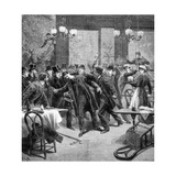 Attack Against M Georgewitch  Minister of Serbia in Paris 1893