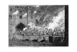 Sir Thomas Wyatt Attacking the By-Ward Tower  1554