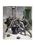 The Arrest of Ravachol  1892