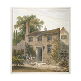 House in Holborn  London  1815