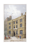 Building in Old Broad Street Which Bears the Pinners' Hall Sign  City of London  1815