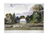 Old Park  Clapham  London  C1830