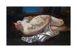 Reclining Woman  1865