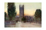 Magdalen Bell Tower  Oxford  Oxfordshire  1924-1926