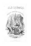 Title Page of Old Saint Paul's by William Harrison Ainsworth  1855