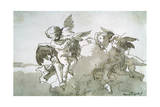 Cupids with Doves and a Torch  17th Centruy