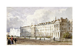 View of Hanover Terrace in Regent's Park  London  1827