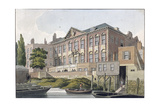 Fishmongers' Hall from the River Thames  London  C1810