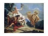 Apollo Pursuing Daphne  C1755-1760