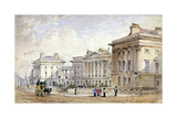 View of Clarence Terrace in Regent's Park  London  1827