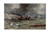 The Attack on the German Positions North of the Aisne  16th April 1917