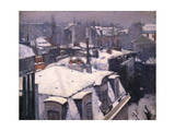 Snow on Roofs  1878
