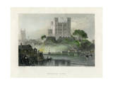 Rochester Castle  Kent  Mid 19th Century