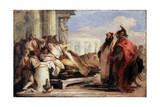 The Death of Dido  1757-1760