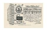 A Satirical Banknote: Crime  Punishment and Protest  1819