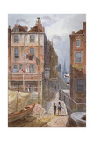 Hungerford Stairs  Westminster  London  C1815
