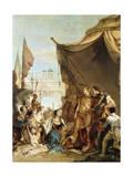 The Family of Darius before Alexander  333 BC