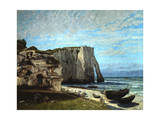 The Cliffs of Etretat after a Thunderstorm  1870