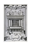 Monument to King Edward VI  Chapel of Henry VII  Westminster Abbey  London  C1740