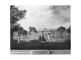 A Cricket Match  18th Century
