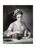 A Maid Ironing  18th Century
