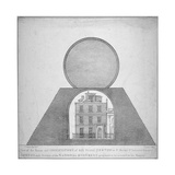 Sir Isaac Newton's House and Observatory  35 St Martin's Street  Westminster  London  1826