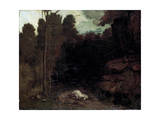 Landscape with a Dead Horse  1850S