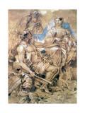 Study of Figures in Costume  C1635-1670