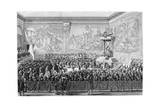 Parliament Meeting  Versailles 1776