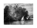 A Sight at Celebes  Indonesia  19th Century
