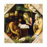 The Adoration of the Christ Child, C1640 Giclée par Guido Reni