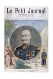 General De Négrier  Inspector-General of the French Army  1895