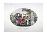 Swearing at Highgate  1796