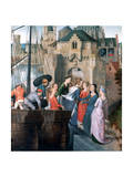 St Ursula Shrine  Arrival in Cologne  1489