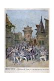 Les Dessous De L'Annee  Revue at the Nouveau Theatre  1896