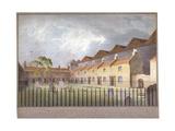 View of Buildings in Park Street  Southwark  London  1808