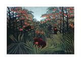 The Tropics, 1910 Giclée par Henri Rousseau
