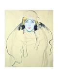 Woman's Head (Frauenkopf)  1917