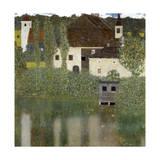 Castello Sul Lago Atter, (Castle Unterrach on the Attersee) 1908 Giclée par Gustav Klimt