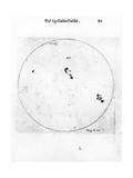 Galileo's Observation of Sunspots  1613