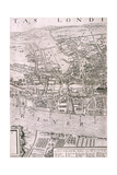 Map of London  1560