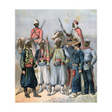 The French Colonial Forces  1891