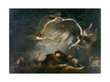 The Shepherd's Dream  from Paradise Lost  1793