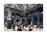 The New Sculpture Pavilion at the Palais De L'Industrie  1892