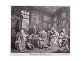 Marriage a La Mode  1745  Plate I