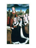Triptych of the Family Moreel  1484