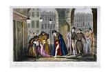 Scene in Covent Garden  Westminster  London  1830