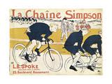 La Chaîne Simson  (Advertising Poste)  1896