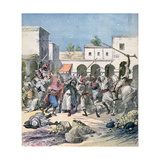 Assassination of a French Collaborator  Morocco  1891